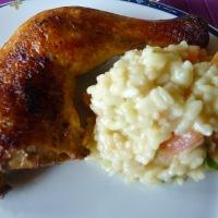 Kyllinglår med risotto