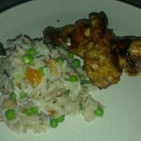 Hellstrøms kyllingvinger med ris