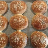 Perfekte hamburgerbrød/Pølsebrød
