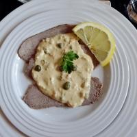 Vitello tonnato / Kalv med tunfisksaus