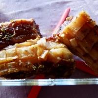 Honningglasert svineribbe