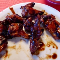 Southern style BBQ wings