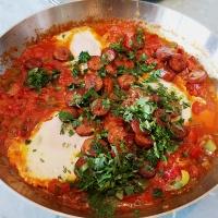 Shakshuka - en eggende panne